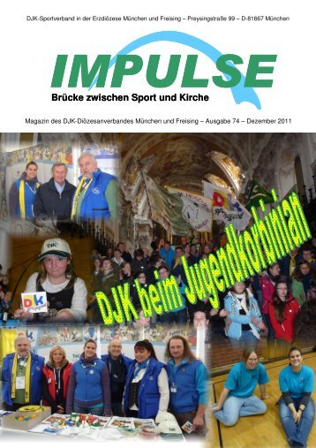 Impulse 2-2011 - DJK-Sportverband München und Freising