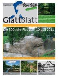 Die 300-Jahr-Flut vom 10. Juli 2011