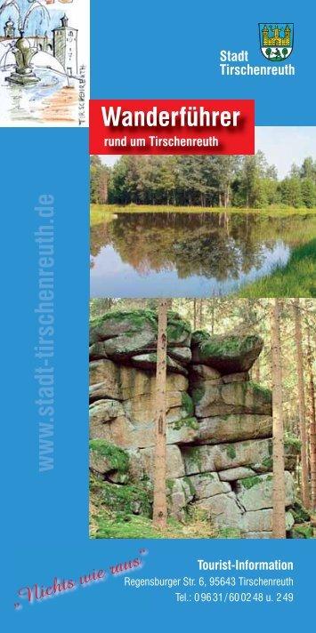 www .stadt-tirschenreuth.de Wanderführer