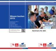 Wissen buchen 2013 - DGB-Bildungswerk NRW e.V.