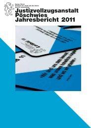 Jahresbericht 2011 - Amt für Justizvollzug - Kanton Zürich