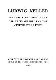 Anhang: Ludwig KELLER - Internetloge.de