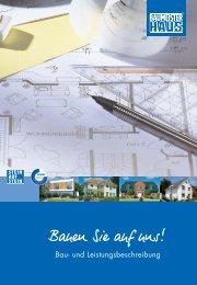 Baubeschreibung - Baumeister-Haus Berlin