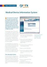 Medical Device Information System - DIMDI