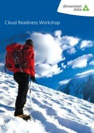 Cloud Readiness Workshop Brochure - Dimension Data