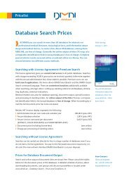 Prices at a Glance ( PDF , 609 kB ) - DIMDI