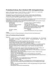 CPU Bau & Handwerk WIN - EDV Service Lehmann