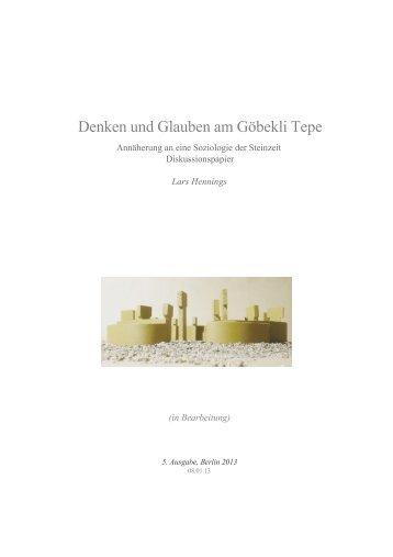 Göbekli Tepe PDF - Lars Hennings