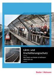 Lärm- und Erschütterungsschutz - Basler & Hofmann