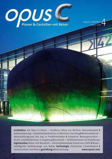 Planen & Gestalten mit Beton - Hermann Rudolph Baustoffwerk GmbH