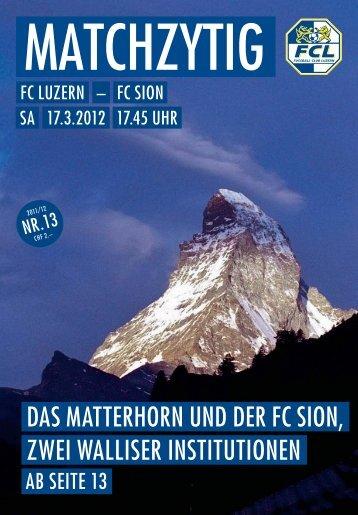 Ausgabe 13 - FC Luzern