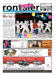 Wo ist der Böögg? - Regionalzeitung Rontaler AG