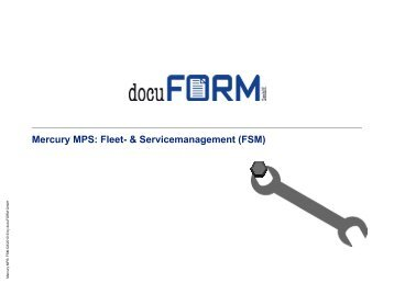 Mercury MPS - docuFORM GmbH