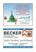 Nachrichtenblatt Dezember 2012 - Werbegemeinschaft Geismar ... - Page 7