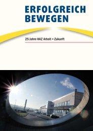ERfolgREich BEwEgEn - HAZ Arbeit + Zukunft