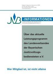 Dienst-Haftpflichtversicherung - JVB - Landesverband der ...