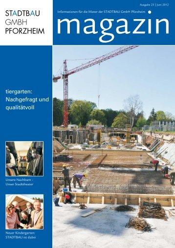 STADTBAU Magazin Ausgabe Nr. 23 (Juni 2012)