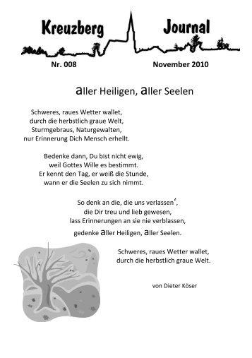 Bie'm Vurrelsfänger in dä Liehr - Kreuzberg im Bergischen Land