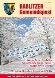 Liebe Gablitzer! - SPÖ Gablitz
