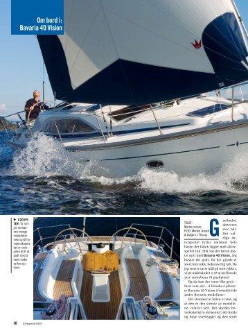 Om bord i: Bavaria 40 Vision
