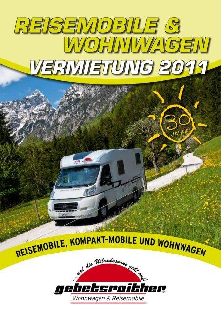 REISEMOBILE & WOHNWAGEN - Wohnwagen - Gebetsroither
