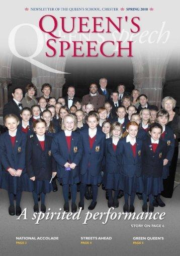 Spring 2010 - The Queen's School