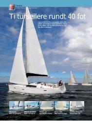 Ti turseilere rundt 40 fot - Delphia Yachts AB