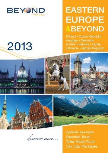 escorted tour - Beyond Travel