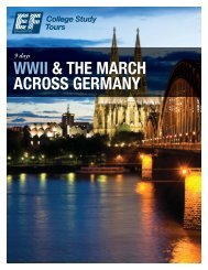WWII & THE MARCH ACROSS GERMANY