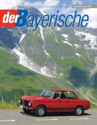 Magazine of the National Capital Chapter BMW ... - der Bayerische