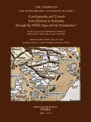"""""""Carthography and Travels from Ptolemy & Antiquity through the ..."""