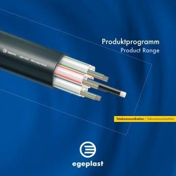 Schutz- und Verlegesysteme für Glasfasernetze - egeplast