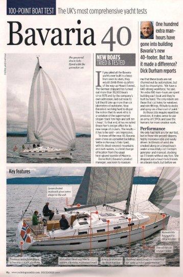 Download Bavaria 40 Review - South West UK Marine Sales