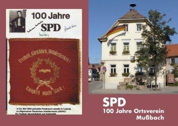 Unsere Vorsitzenden - SPD-Stadtverbandes Neustadt