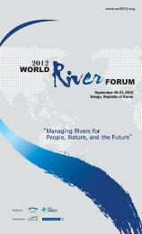 Program WRF2012 - 2012 World River Forum
