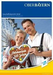 Geschäftsbericht 2010 - Tourismusverband München-Oberbayern e.V.
