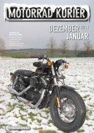 Januar DEZEmbEr - Motorrad-Kurier