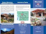 Saddle Mountain Restaurant & Lodge Location & Travel Outdoor ...