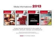 Media-Informationen 2013 - beim SN-Fachpresse Verlag