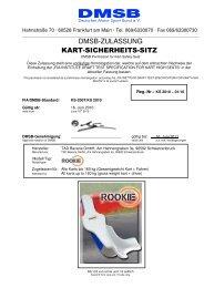 FIA Test Specification for Kart High Seats 2007 ... - KSP Kartcenter