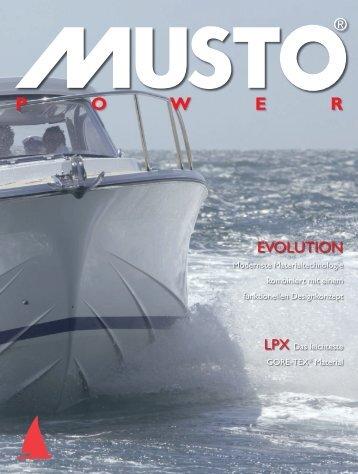 Musto Power Katalog - Bernwieser