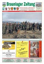 Zur UNO-Dekade der Biodiversität (Teil 7) - Braunlager Zeitung
