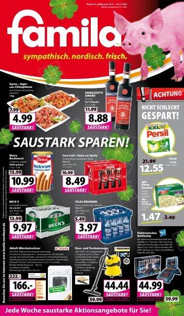 SAUSTARK SPAREN! - Famila