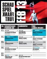 01 FR 19.30 - Schauspiel Frankfurt