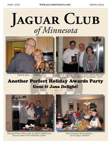 Spring Quarter Newsletter - April, 2006 - Jaguar Club of Minnesota