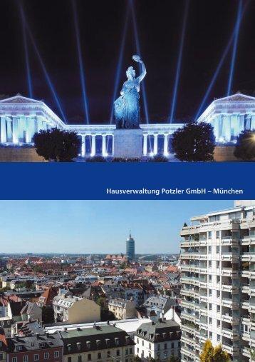 München - Hausverwaltung Potzler GmbH