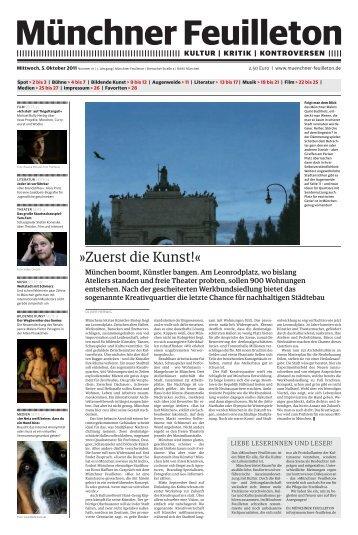literatur - Münchner Feuilleton