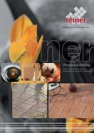 Gestrahlte Platten - Feiner Betonwerk GmbH & Co. KG
