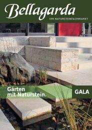 Gärten mit Naturstein. GALA - Bellagarda