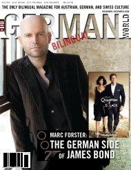 GW Cover - German World Magazine